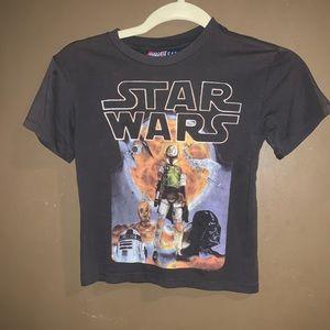 Star Wars T- Boba Fett, Darth VaderNice dark gray.